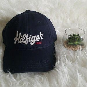 Tommy Hilfiger Blue 1985 Men's Dad Hat